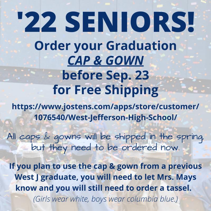 Grad Cap Orders