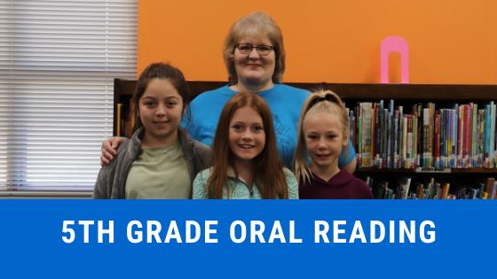 5th grade oral reading