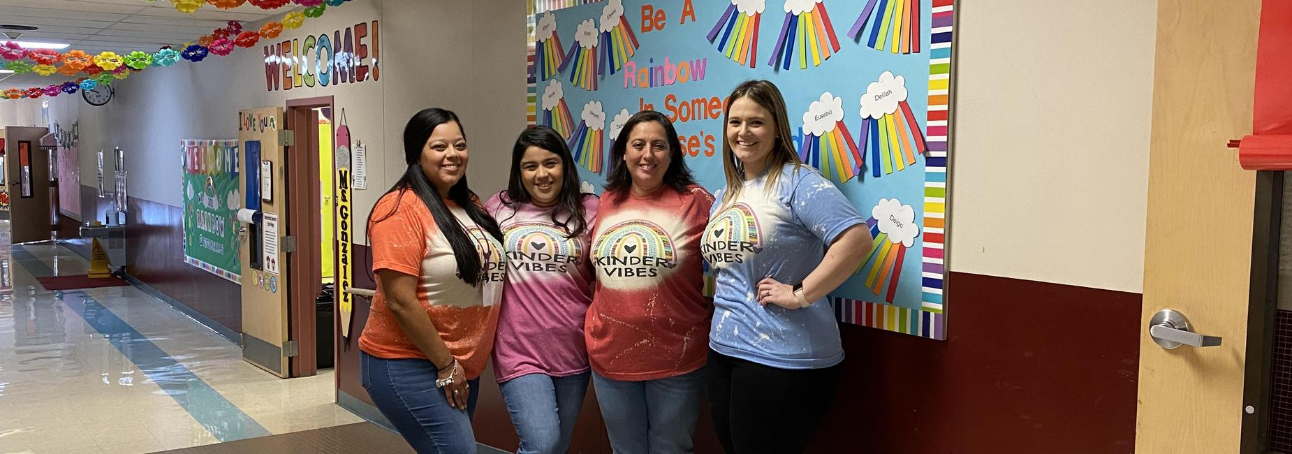 2021-2022 Meet the teacher Kindergarten team