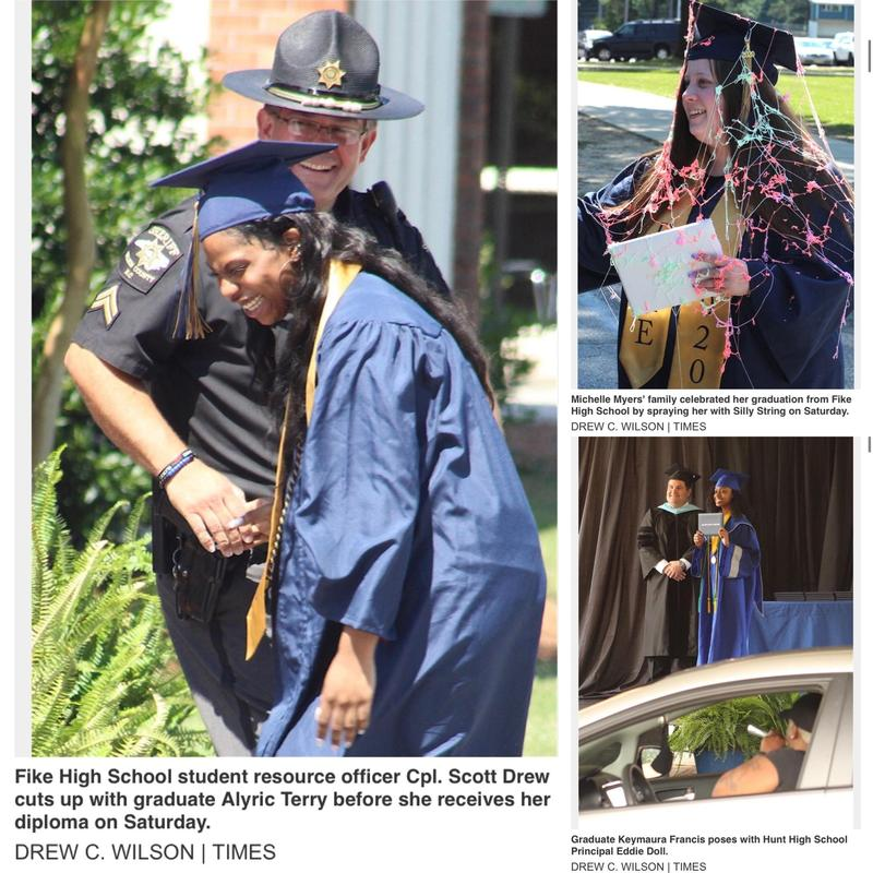 High School Graduations.