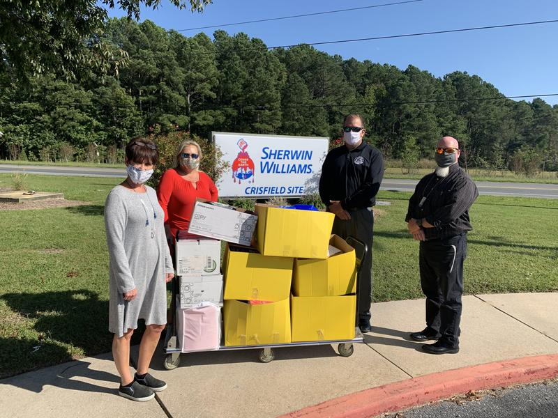Sherwin-Williams Donates Supplies to Somerset County Public Schools Featured Photo