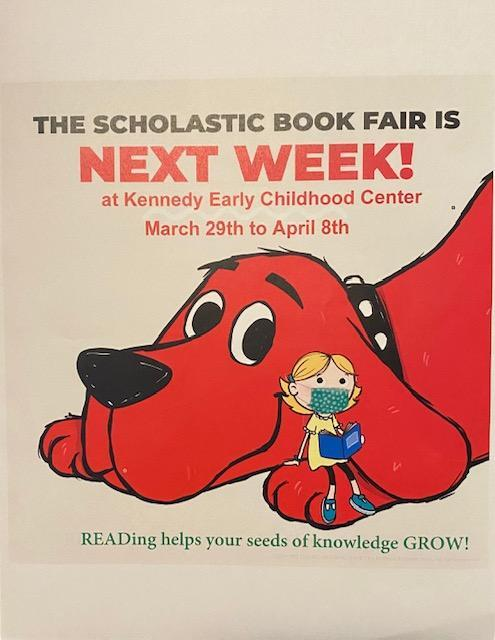 Book Fair March 29 through April 8