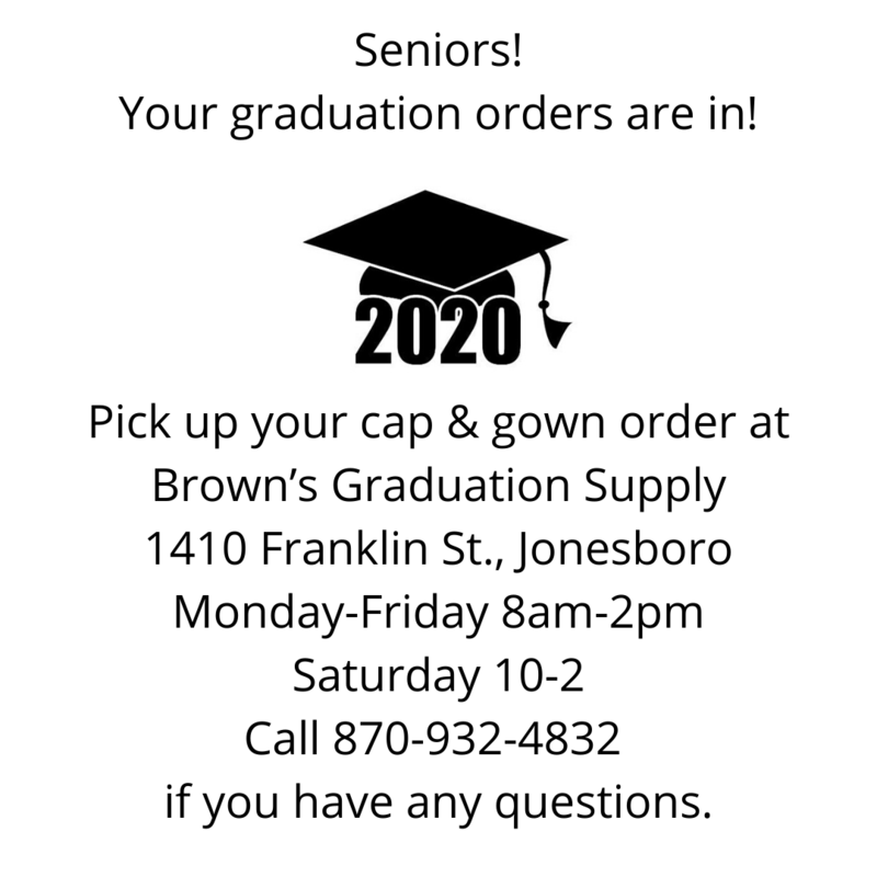 Brown's Graduation Supply Orders Featured Photo