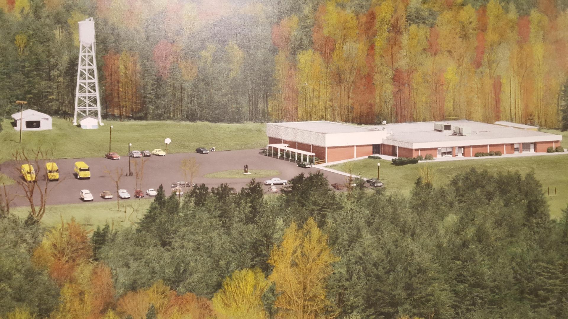 Germanton School circa 1980s