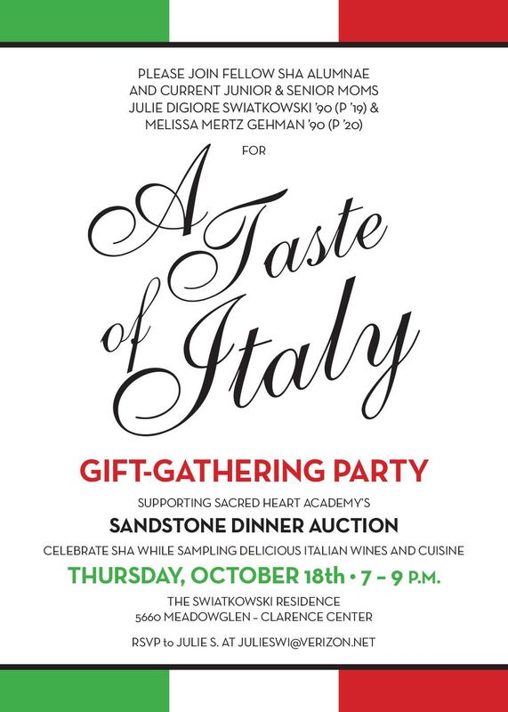 invitation to gift gathering party