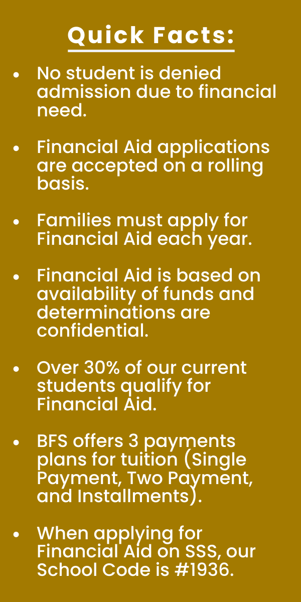 Financial Aid Quick Facts