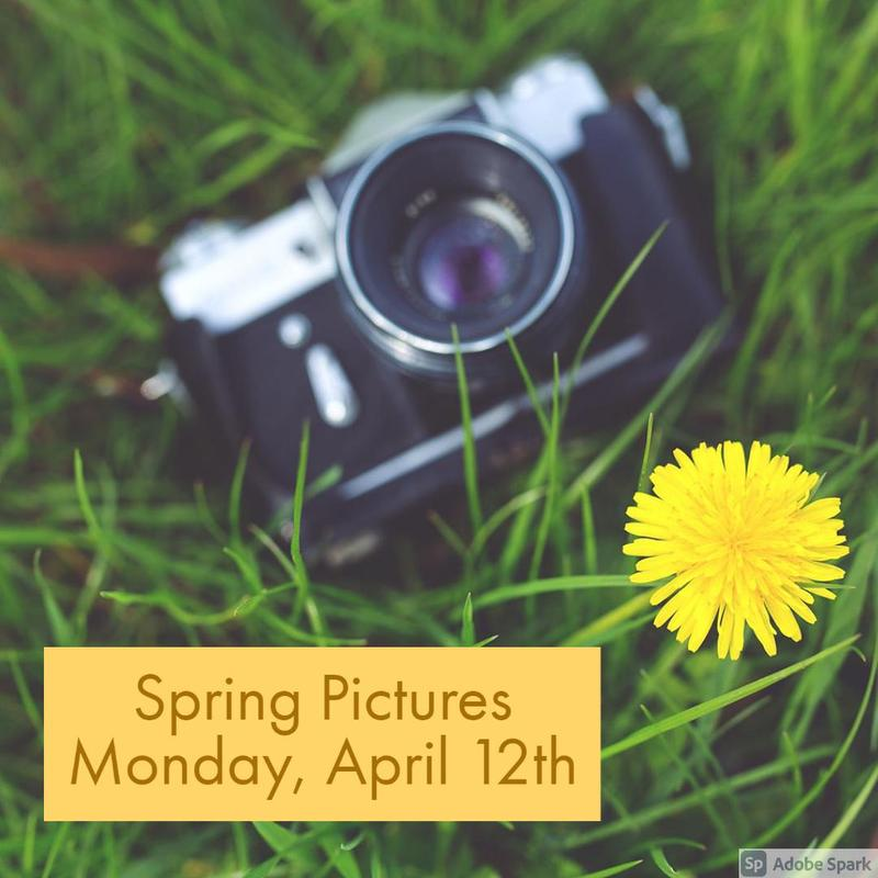 Spring Picture Day Rescheduled Thumbnail Image