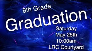8th Grade Grad. Flyer