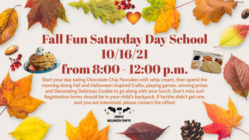 Flyer for Saturday School
