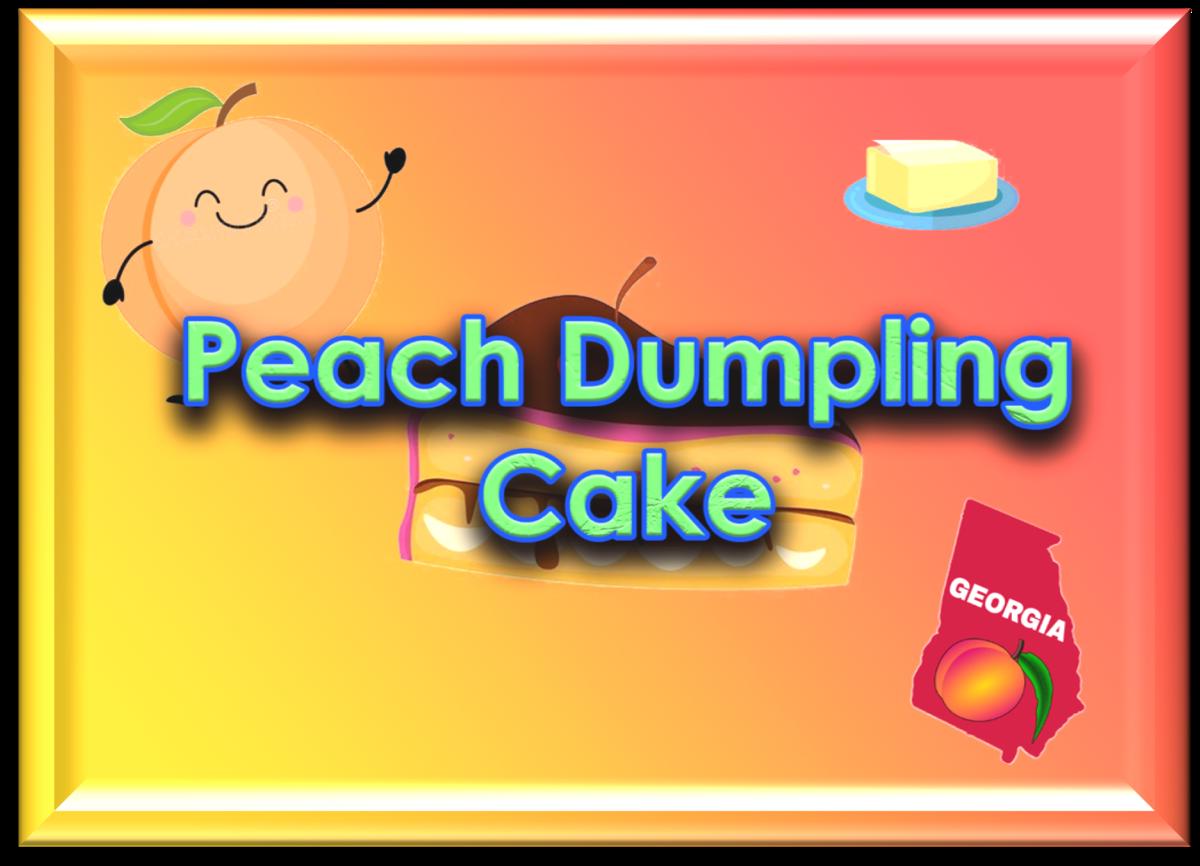 Peach Dumpling Cake