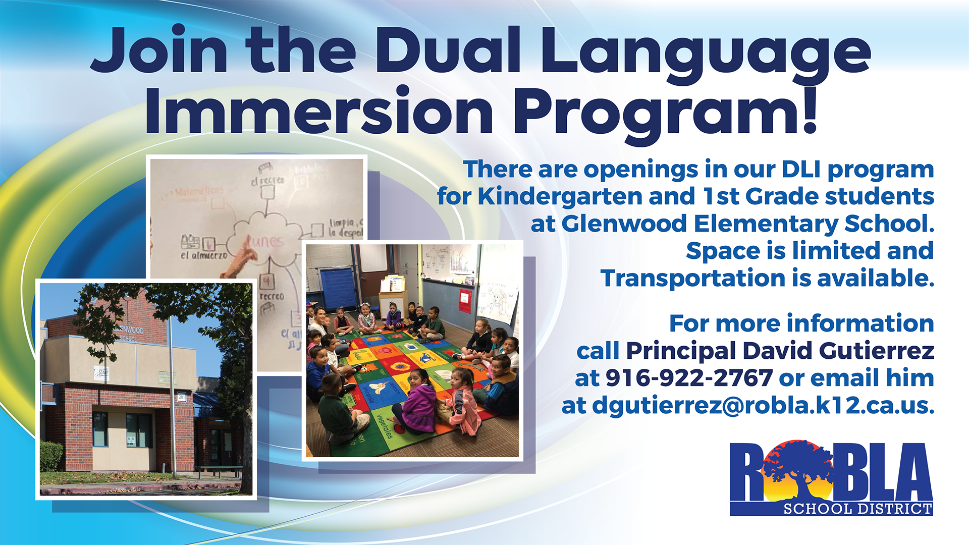 Join the Dual Language Immersion Program Flyer