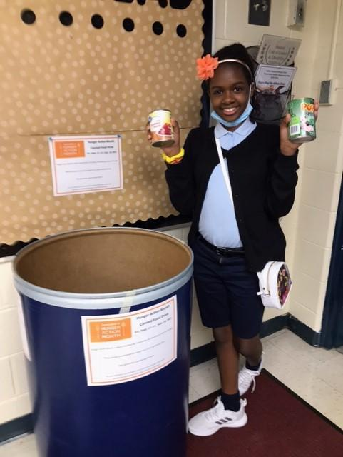 Girl Scouts Canned Food Drive Featured Photo