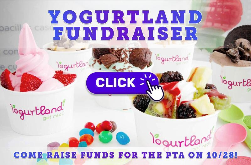 Glenview PTA Fundraiser at Yogurtland on October 28!