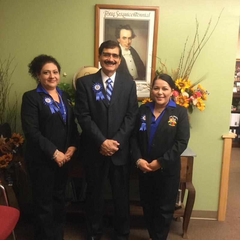 CA Mrs. Lopez, Principal Mr. Cano, Counselor Mrs. Villarreal