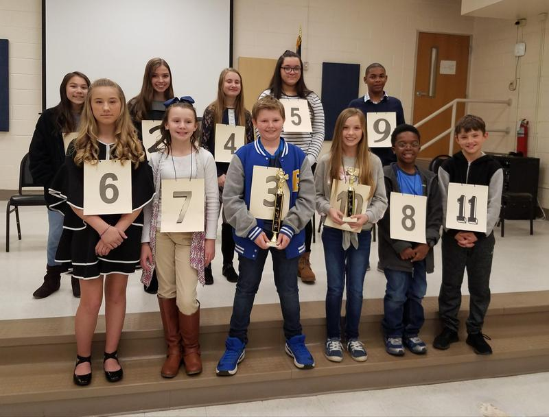 CCSD holds spelling bee Featured Photo