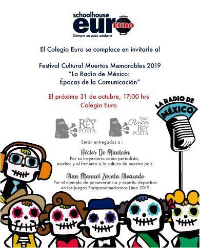 FESTIVAL CULTURAL MUERTOS MEMORABLES 2019 Featured Photo