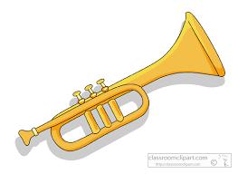 clip art of a trumpet