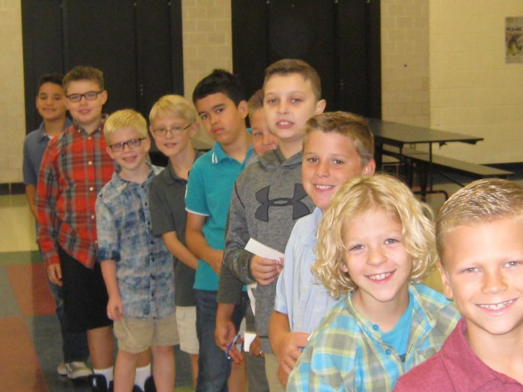Central Elementary Students