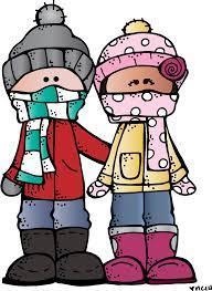 Children winter
