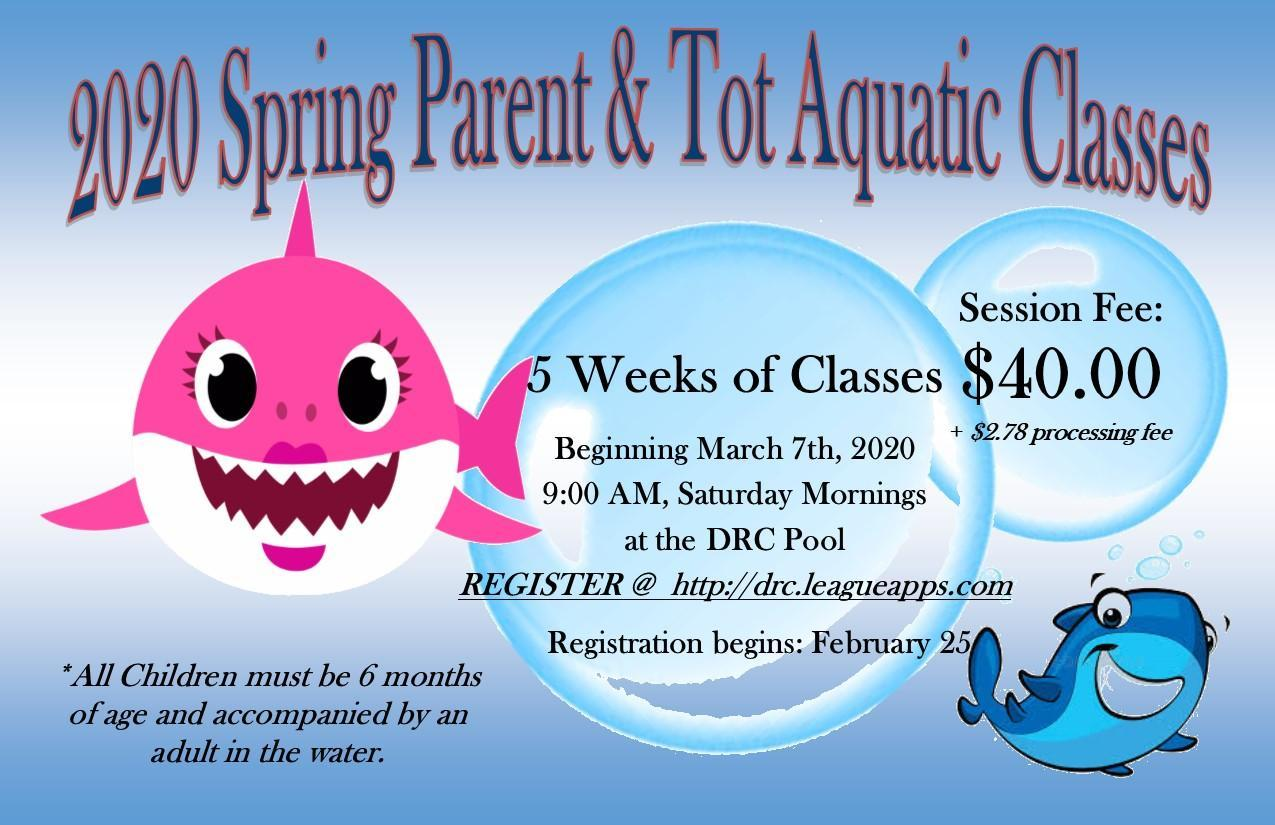 Parent Tot Aquatics Class 2020
