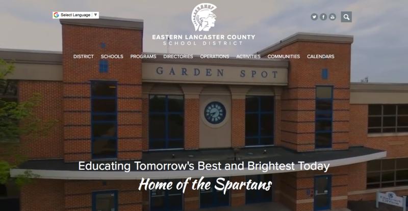 School Website Design of the Week: 9/13/2018 Featured Photo