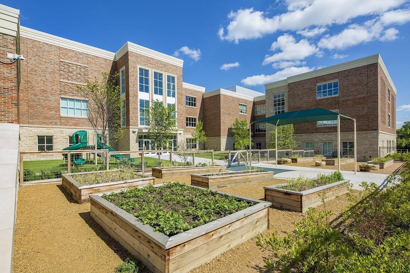 Elementary #5 learning garden