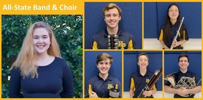 6 HPHS Students Named All-State Musicians Featured Photo