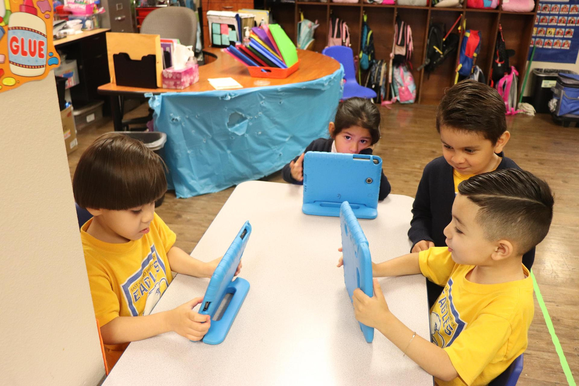 Technology used in PreK education