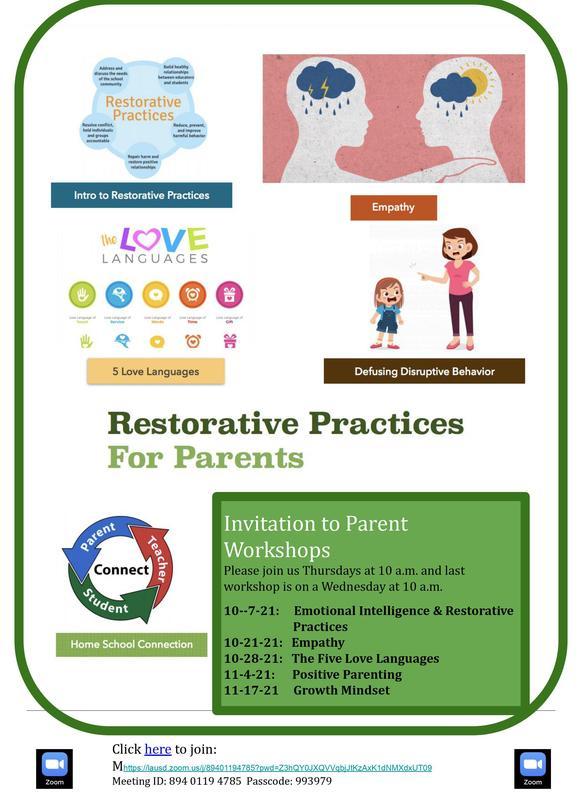 Restorative Practices for Parents Featured Photo