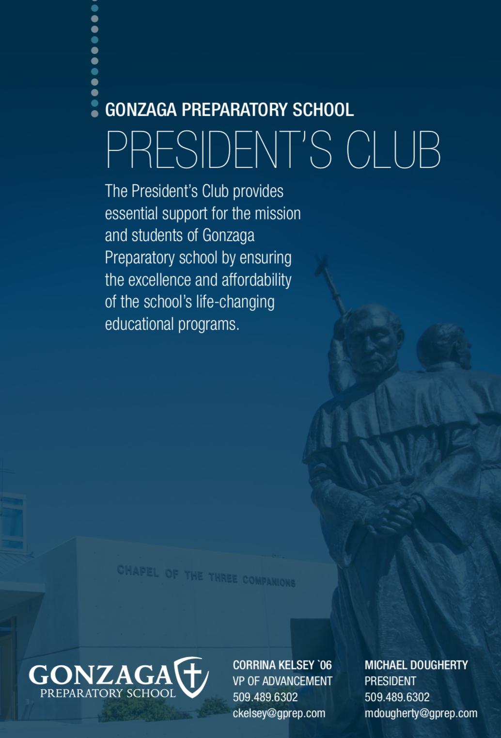 Club brochure