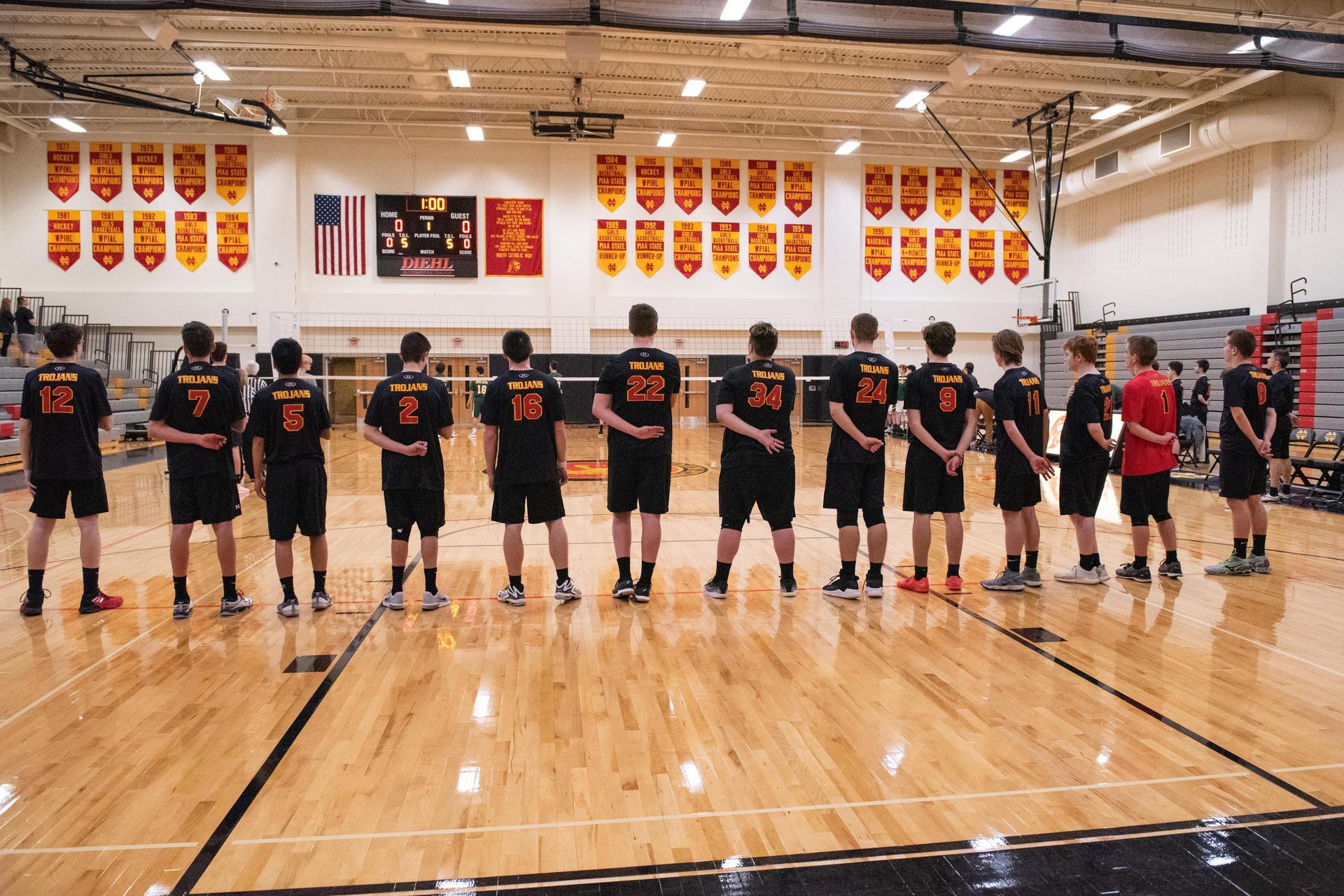 North Catholic Volleyball