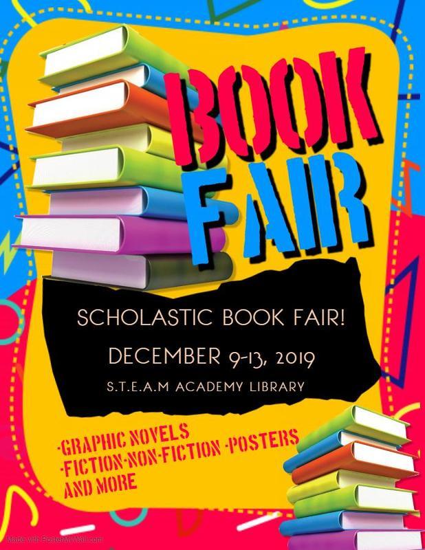 Scholastic Book Fair-December 9-13, 2019 Featured Photo