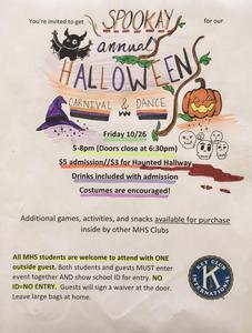 Maspeth High Key Club Hosts Halloween Carnival Featured Photo