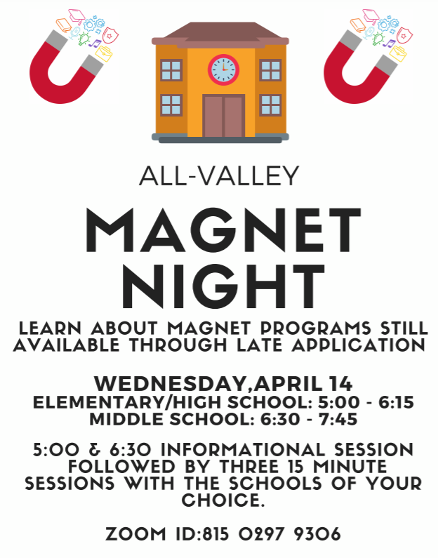 ALL-VALLEY MAGNET NIGHT Featured Photo