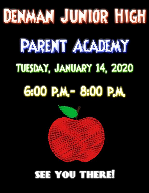 Denman Junior High School Parent Academy 2020