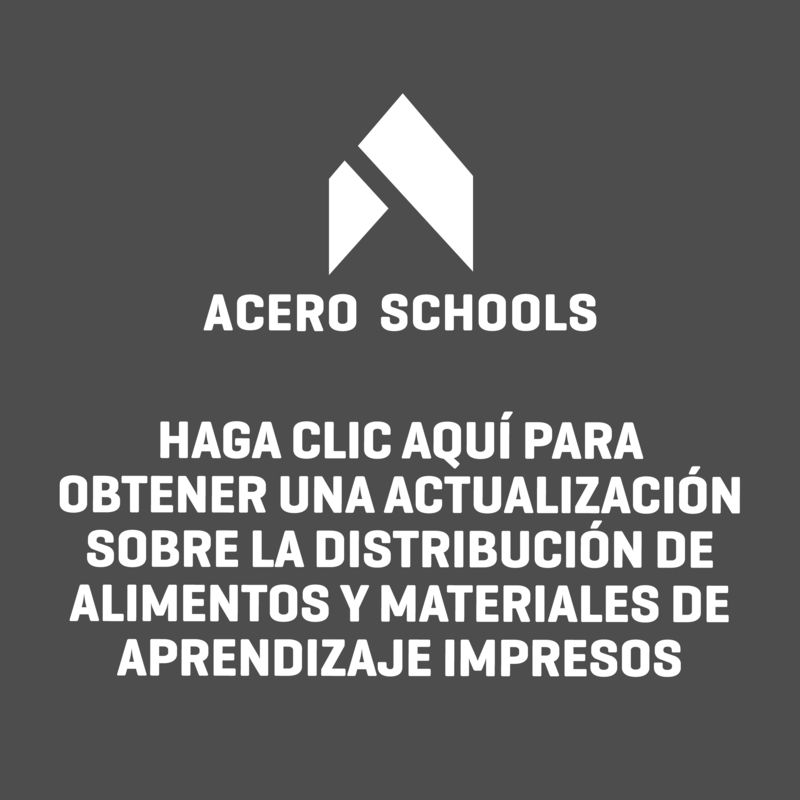 Important Message from Acero Schools