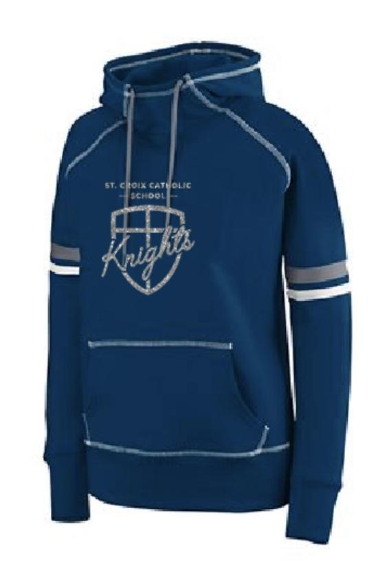 long-sleeve sweatshirt blue