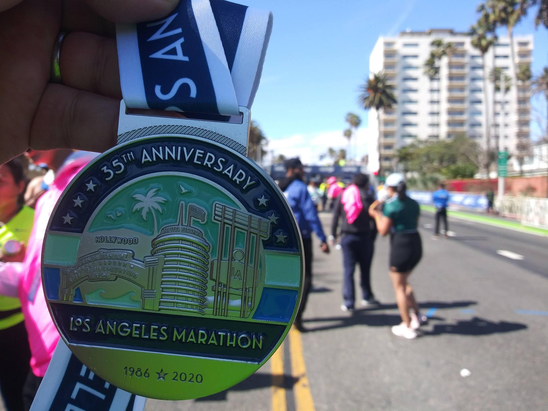 'If I can run a marathon, I can do anything!'