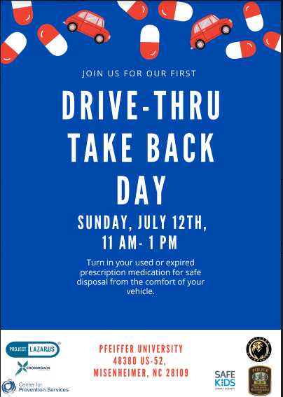 Free Over the Counter Medicine Giveaway and Drive Through Take Back of Expired Prescription Medicine Featured Photo