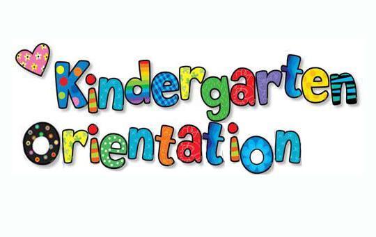 Kindergarten Orientation Clip Art