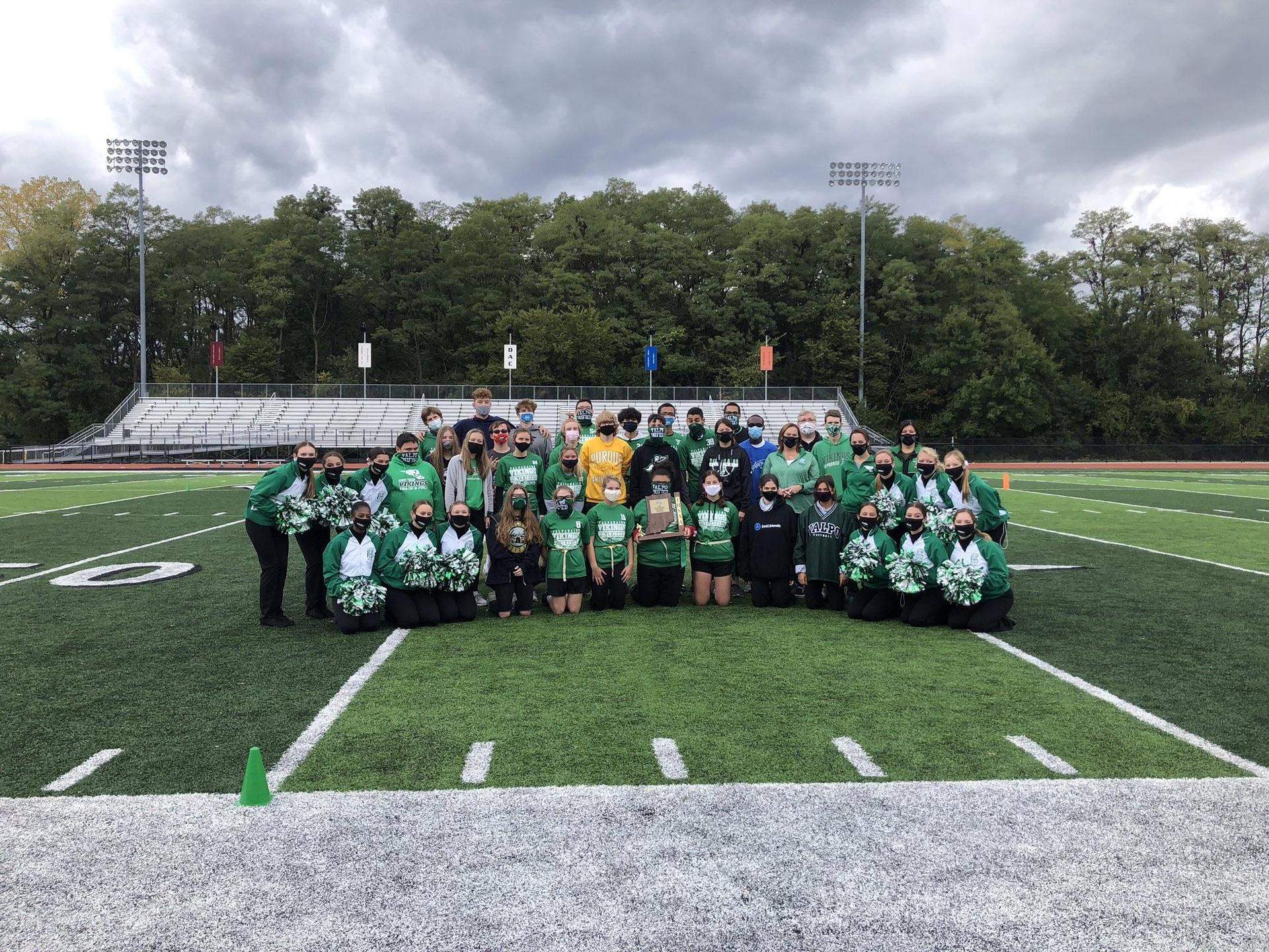 Unified Flag Football champs