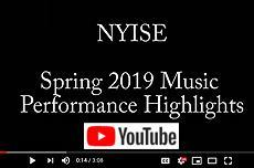 2019 Spring Music Performance