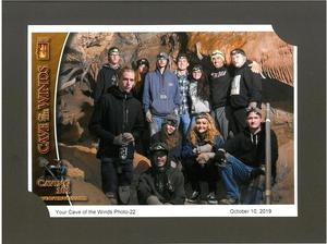 CCHS Tops Students visit Cave of The Winds