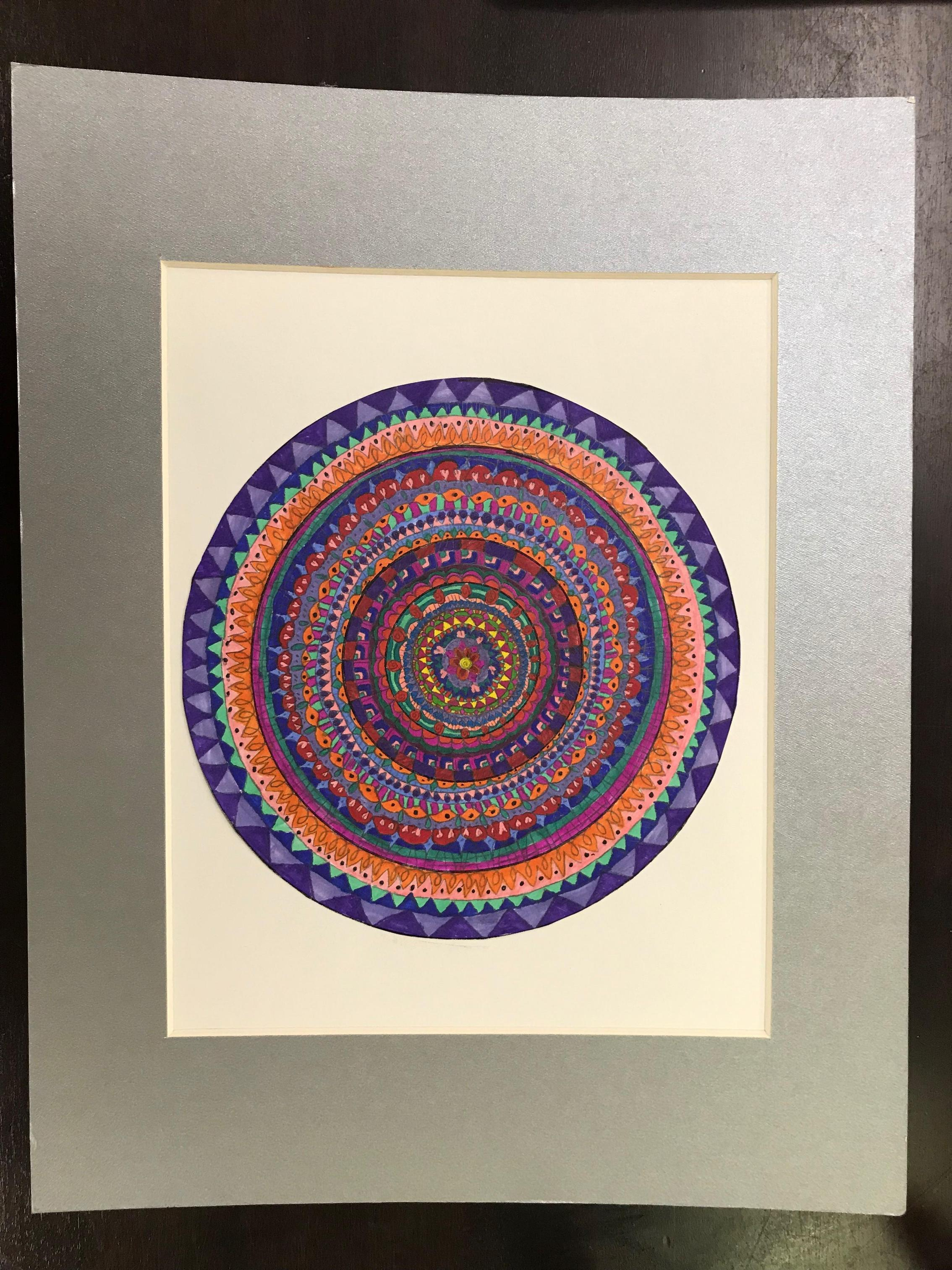 Art Mandala by Christina Cannon