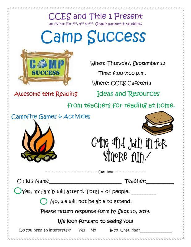 Camp Success