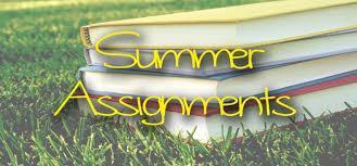 Summer Homework 2021 Featured Photo