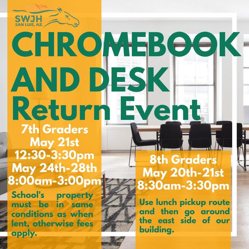 Chrome and Desk return Featured Photo