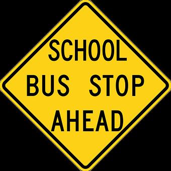 Bus Stop Ahead