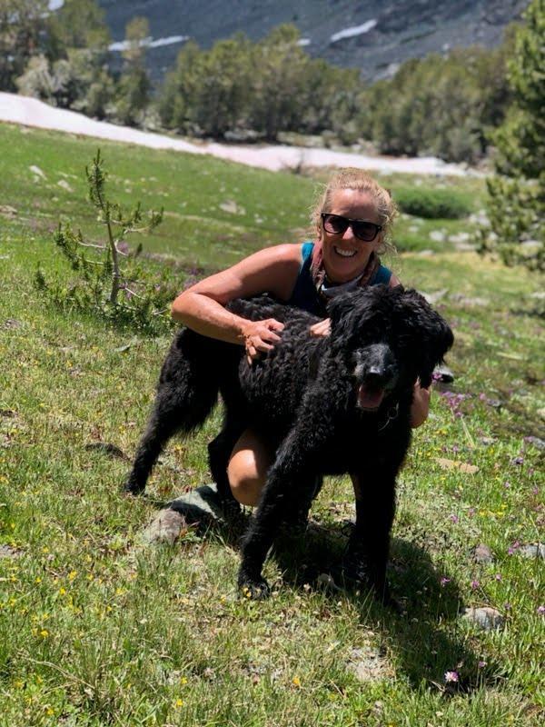 Mrs.Fischer loves to hike!
