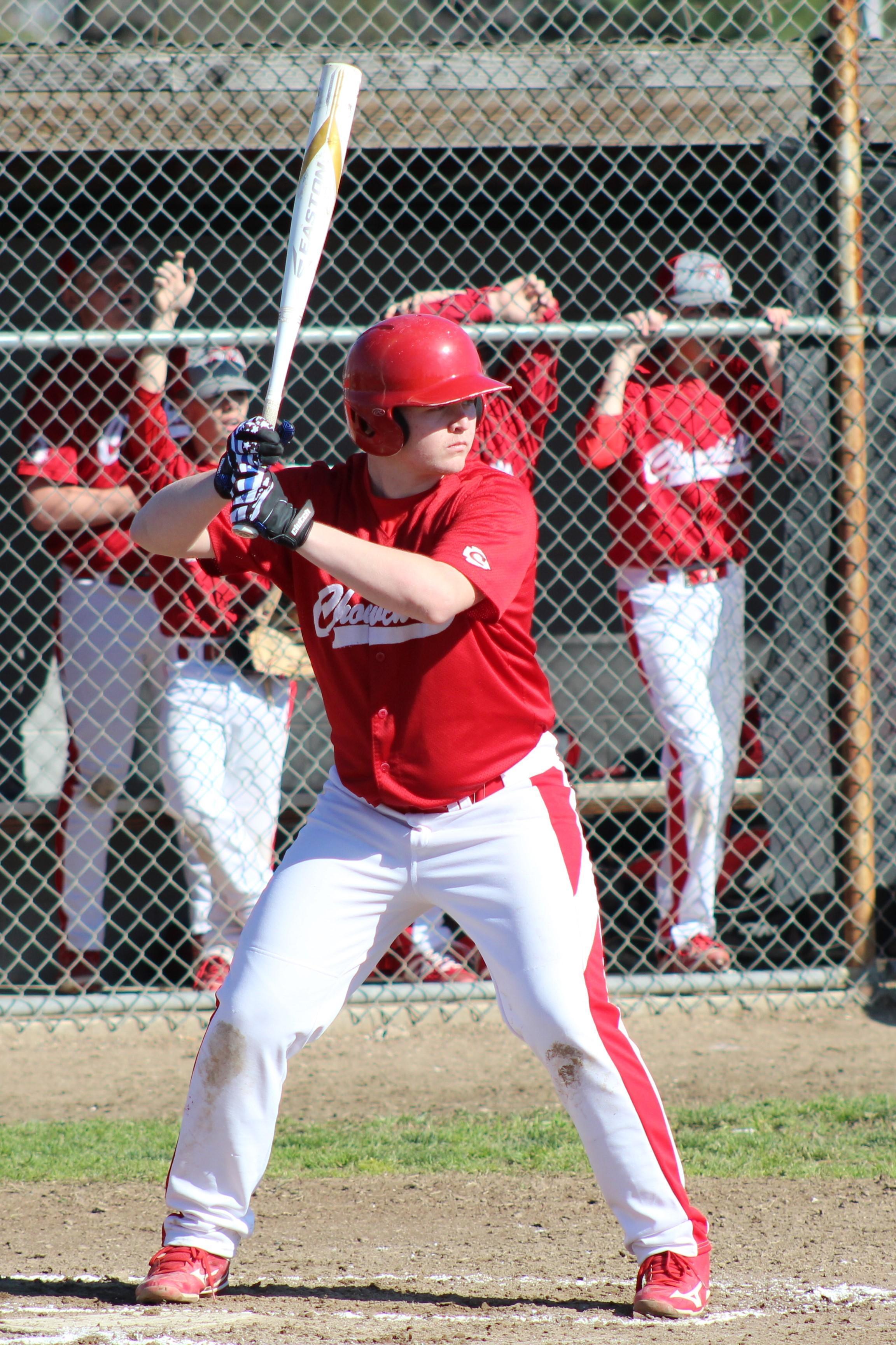 JV Baseball in action against Washington Union